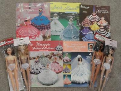 DOLLS&CROCHET PATTERNS- 4 Fashion Dolls / 5 Pattern Books / Plantation Beauties