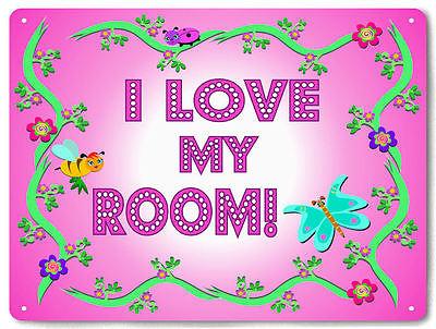 Girls room METAL SIGN cute funny baby nursery pretty wall decor 636
