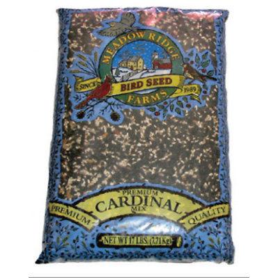 Meadow Ridge Farms B110117 Premium Cardinal Bird Food Mix, 17 Lb