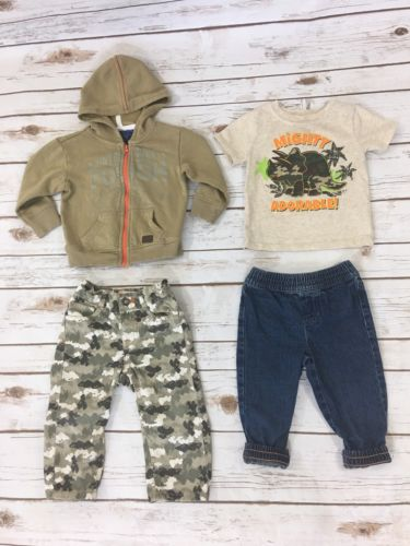 Baby Boy Clothing Lot of 3 Size 12 Month Lee Brand
