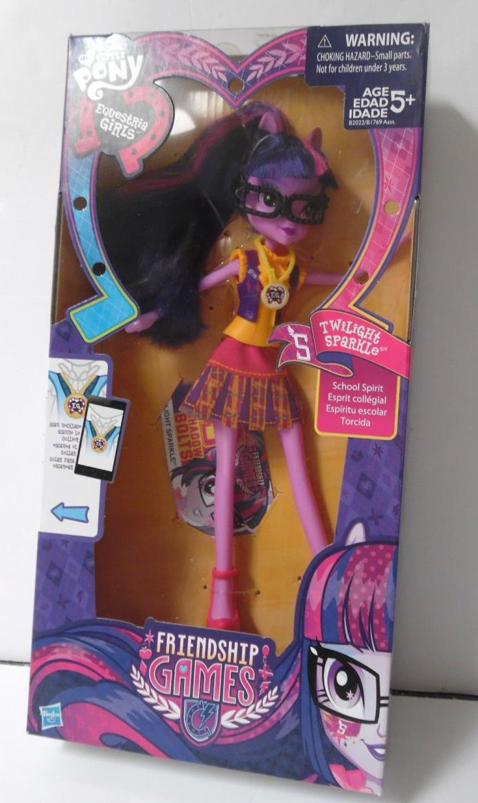 My Little Pony Equestria Girls Friendship Games Twilight Sparkle Doll
