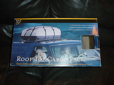 New Axius Elite Roof Top Cargo Pack #51486 15 Cubic Feet Extra Storage