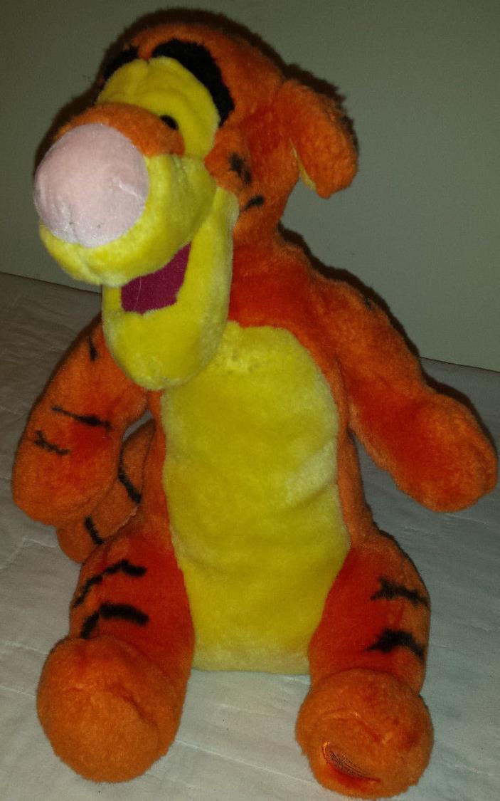 Disney's Tigger the Tiger Winnie The Pooh 14 Inch Soft EUC