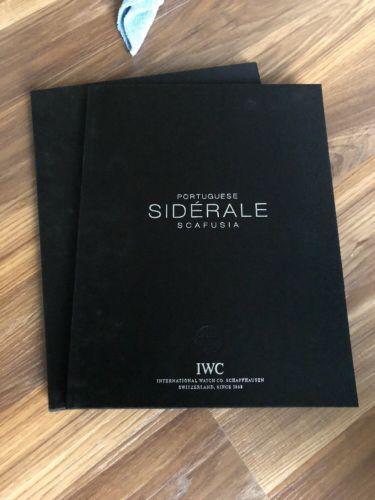 IWC PORTUGUESE SIDERALE SCAFUSIA BOOK
