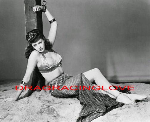 Beautiful Actress Yvonne De Carlo