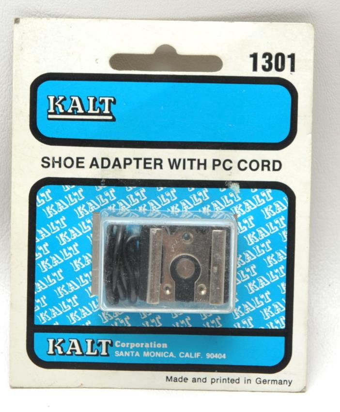 Kalt Shoe adapter w/ PC Cord NOS