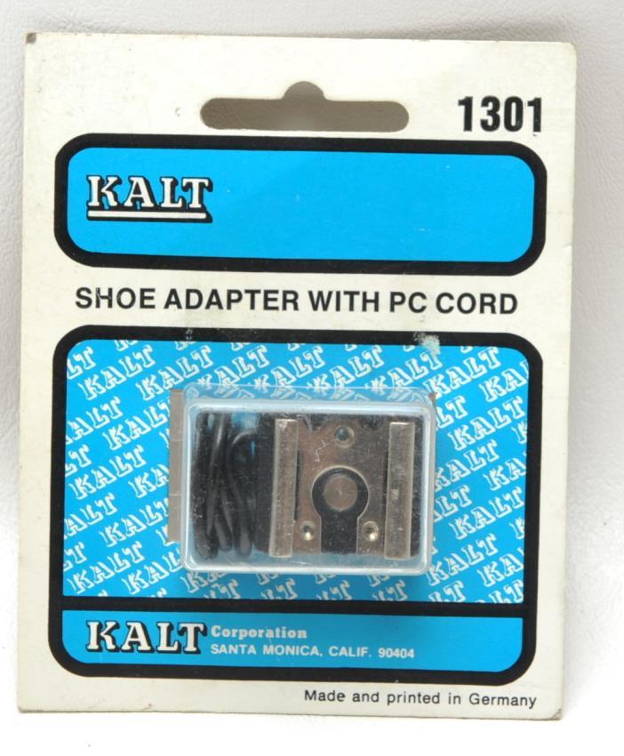 Kalt Shoe adapter w/ PC Cord NOS