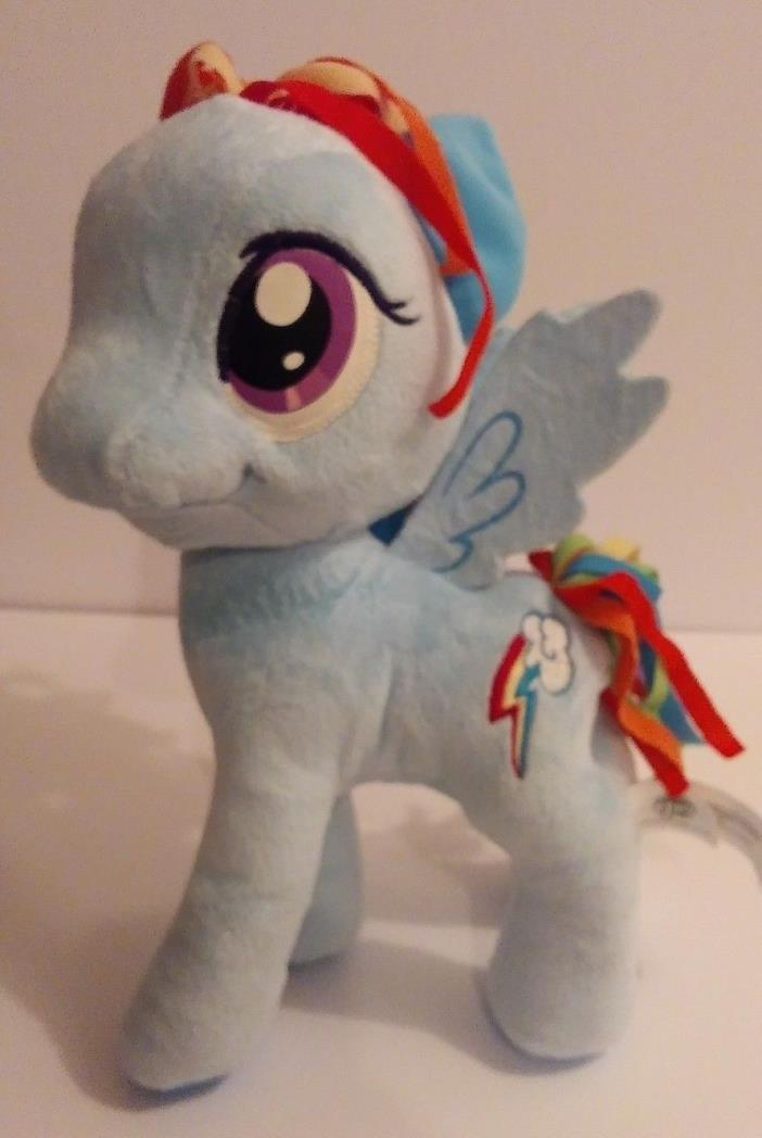 My Little Pony Blue Princess Rainbow Lightning Bolt stuffed animal free shipping