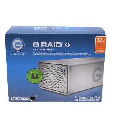 G-Technology 12TB G-RAID Removable Thunderbolt 2 RAID 2-Bay Storage - SKU#947266