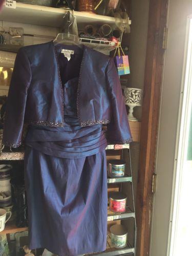 Jean Delys 2 Pc Dress Size 16