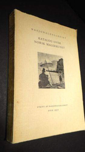 Nasjonalgalleriet 1950 Katalog Over Norsk Malerkunst