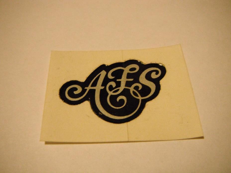 Vintage NOS Arctic Cat AFS Decal 0611-594
