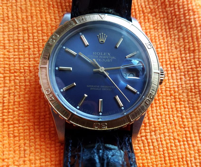 Selling a Used Vintage Rolex Turn-O-Graph Wrist Watch/Case Reference 16253.....