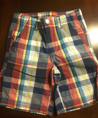 IZOD PLAID SHORTS YOUNG TODDLER SIZE 2T 100% COTTON