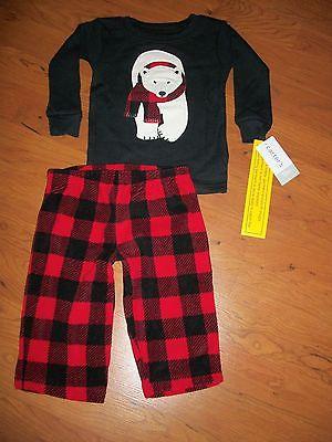 New with tags, boys Carters 2 piece pajama set,