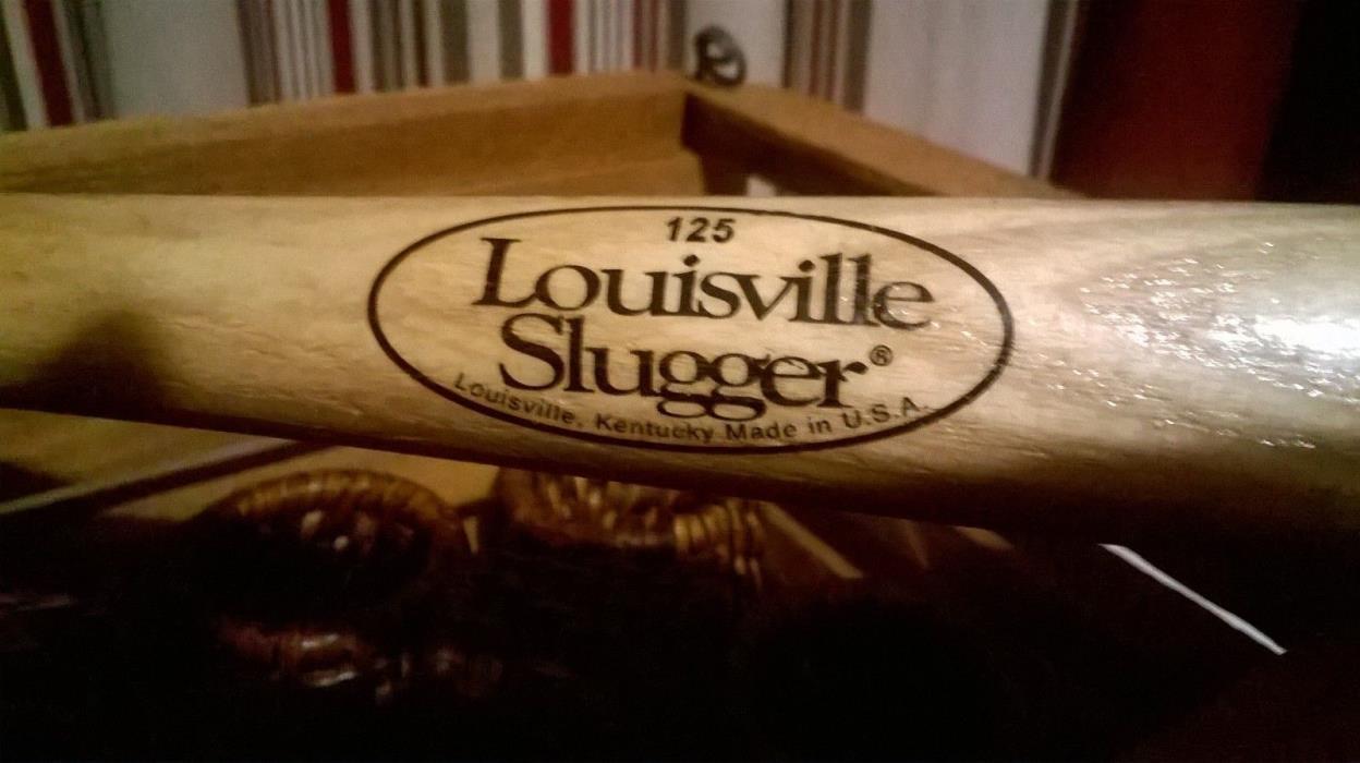 Louisville Slugger 125 mini bat 18