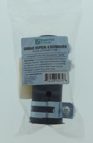 Essential Values Garbage Disposal Dishwasher Connector