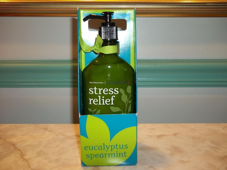 Bath & Body Works Stress Relief Eucalyptus Spearmint Lotion & Wash Gift Set