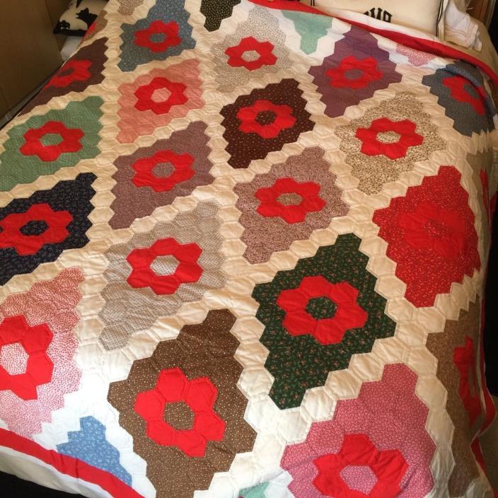 Antique Handmade American Quilt