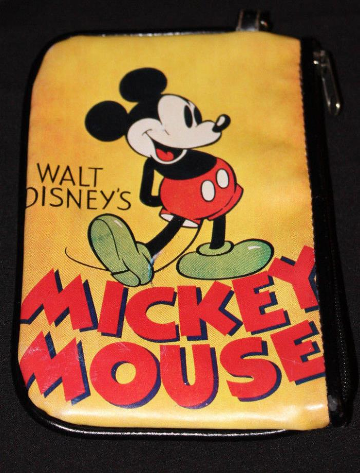Disney Coin Purse With Mickey Mouse