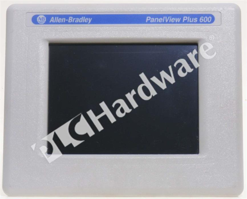 Allen Bradley 2711P-T6C20D8 /A PanelView Plus 6 600 6-in Color Touch Std DC Qty