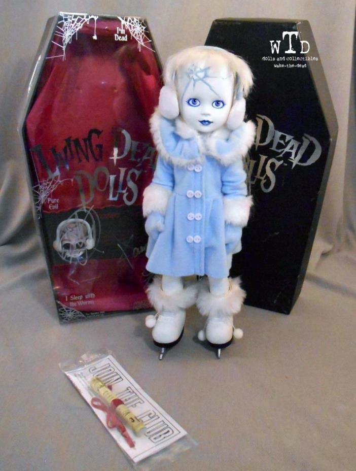 LDD living dead doll SERIES 12 * FROZEN CHARLOTTE * SIGNED