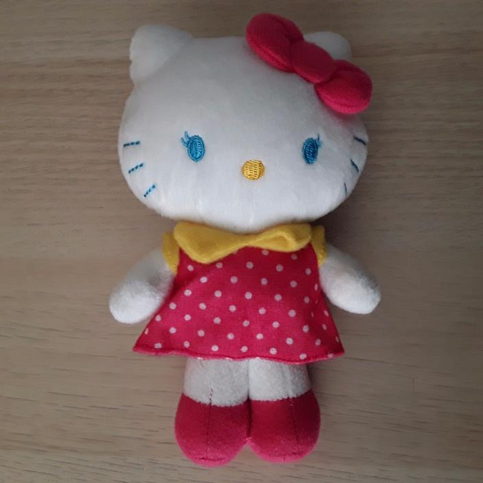 HELLO KITTY Plush Stuffed 7