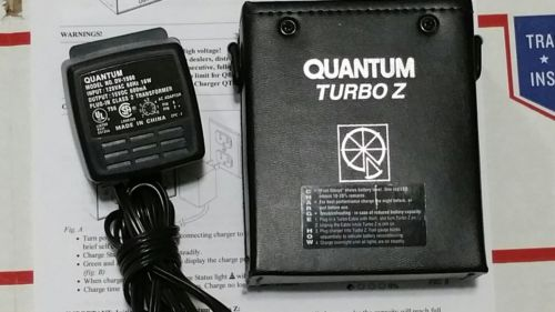 Quantum Turbo Z + Charger with New Ni-MH Cells HIGH CAPACITY 29% more capacity