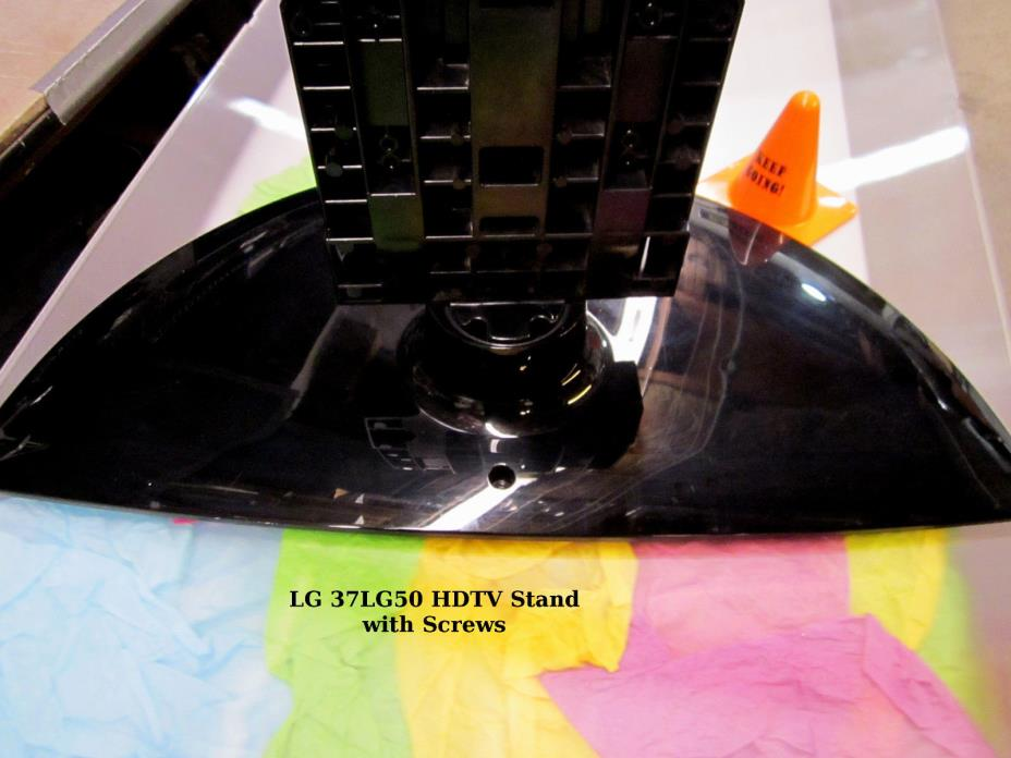 LG 37LG50 HDTV OEM Pedestal Stand Base with Swivel and mounting screws
