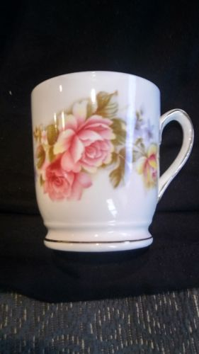 ROYAL SUTHERLAND FINE CHINA FLORAL CUP