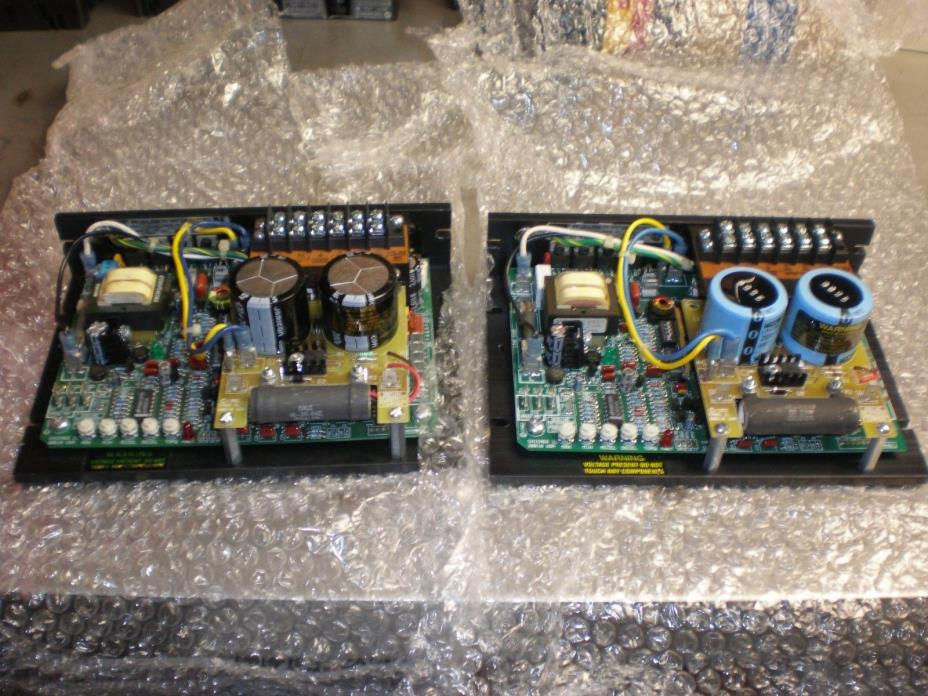 2 Bodine Brushless Motor Controls Model 3911