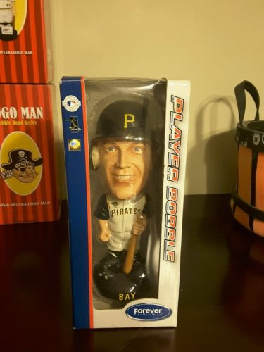 2006  JASON BAY  #38 BOBBLEHEAD PITTSBURGH PIRATES W/BOX FOREVER COLLECTIBLE