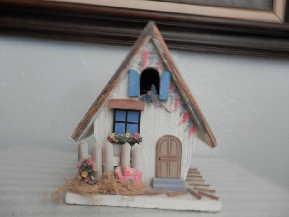 Hand Painted Wood Birdhouse For Joelsen Industries, Inc, Made in China