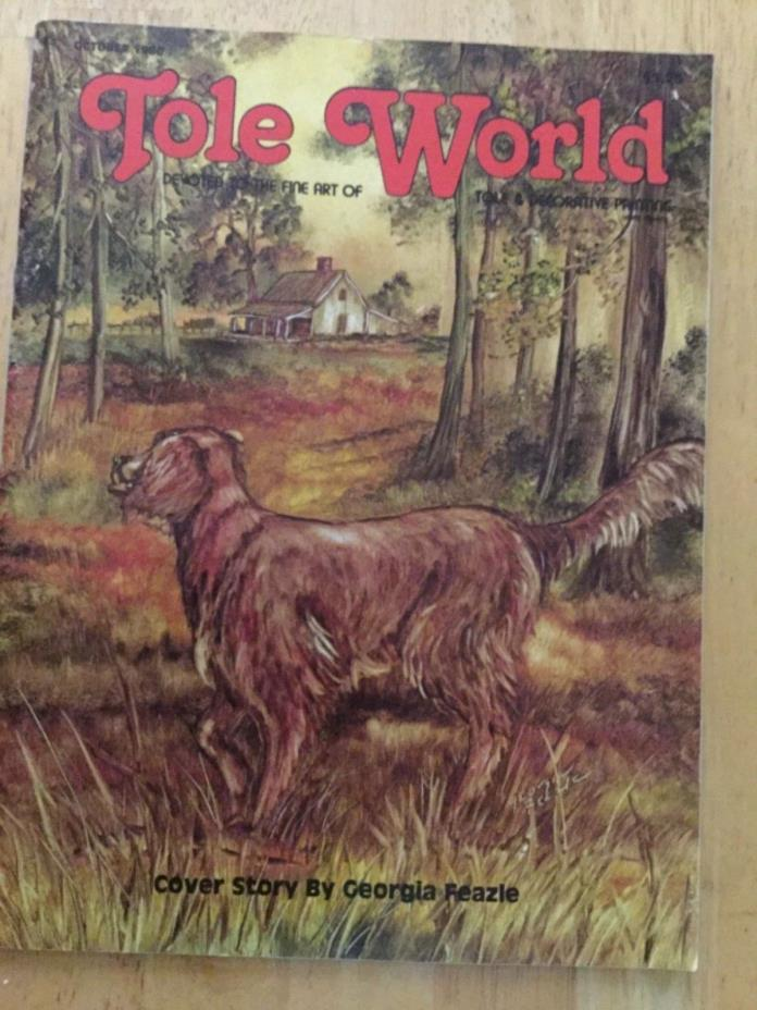 Tole World October 1980