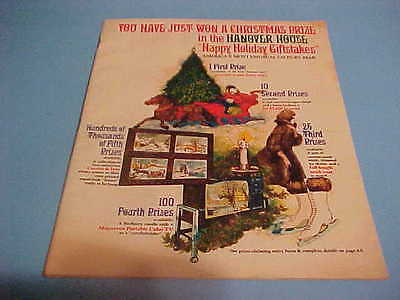 1969 HANOVER HOUSE CHRISTMAS GIFTS CATALOG BY MAIL