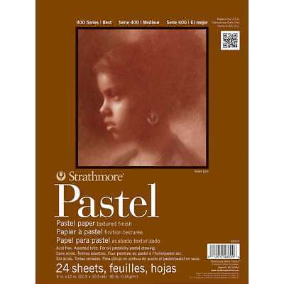 Strathmore Assorted Color Pastel Paper Pad 9