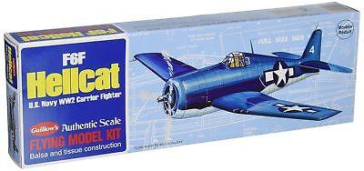 Guillow's F6F Hellcat Model Kit, New, Free Shipping