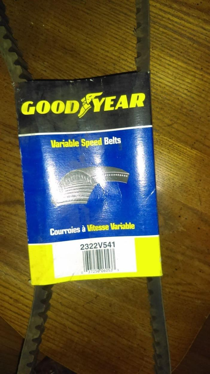 Goodyear variable speed belt 2322v541