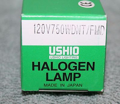 USHIO Halogen Lamp 120V - 750WDNT/FMD Stage Lighting Light Bulb