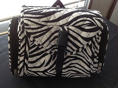 travelon toiletry bag zebra print