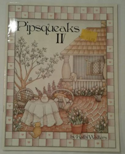 Pipsqueaks IV By Kathi Walters Tole Painting Instruction Book NEW Holiday Santa