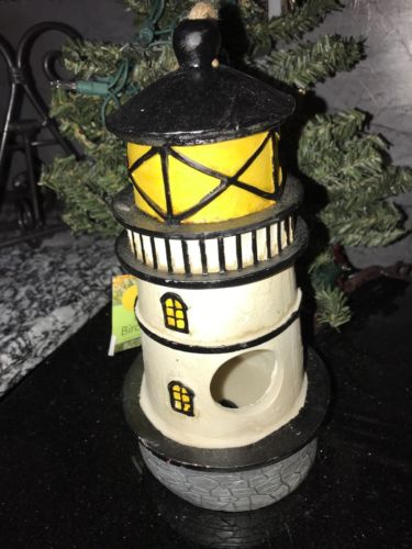 Nautical Lighthouse Birdhouse