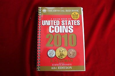 2010 RED BOOK GUIDE BOOK OF UNITED STATES COINS,  SPIRAL EDITION, BRAND NEW BOOK