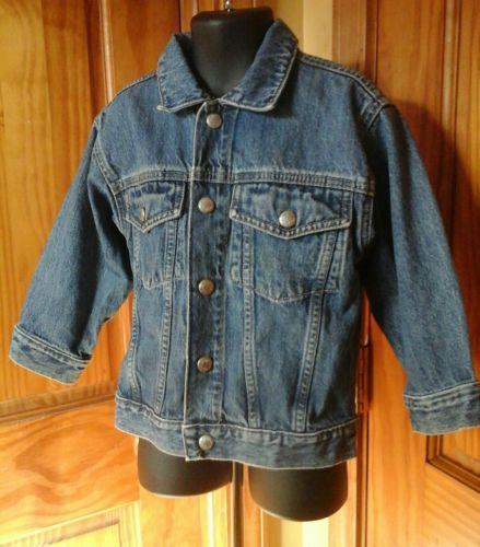 OshKosh Jeanswear Boys  Denim Jacket Coat 3T