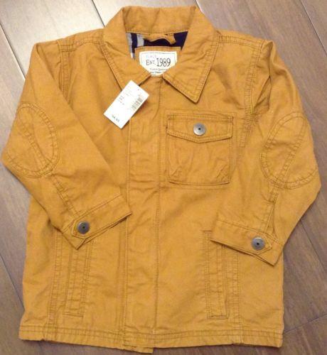 NWT Children's Place Boys Khaki Jacket Size 3T