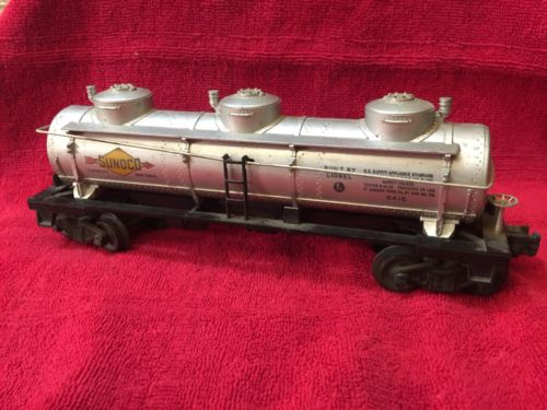 ?? Lionel line train Sunoco Gasoline Train Car ????