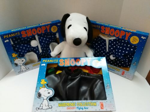 Kohls Cares for Kids Plush Set Snoopy and 3 outfits.