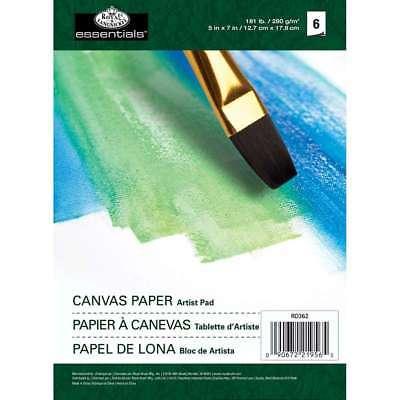 Essentials Canvas Artist Paper Pad 5