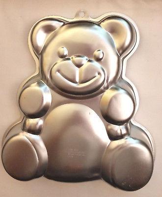 2002 ~ Wilton ~ Huggable Teddy Bear Cake Pan #2105-4943 ~ with instructions
