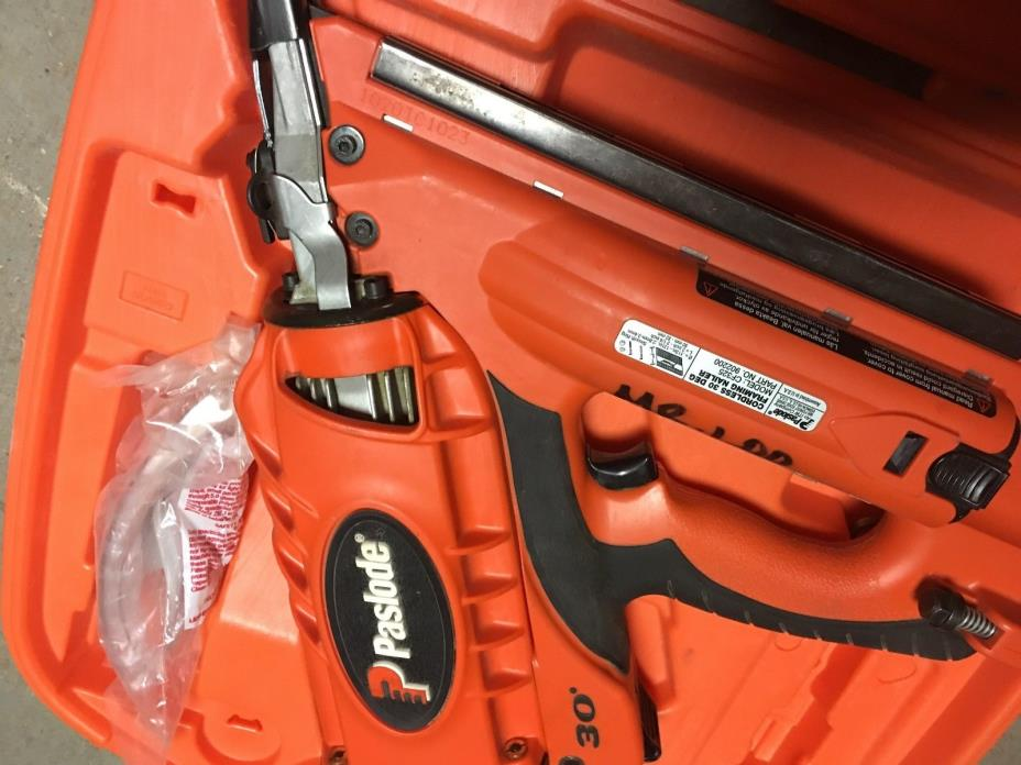 Paslode 30 Degree Cordless Framing Nailer With Charger
